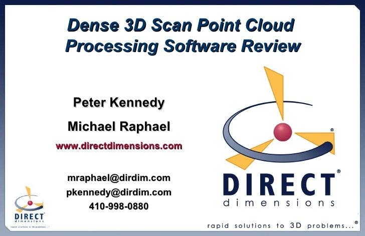 DDI Dense Point Cloud Processing Presentation Oct2009