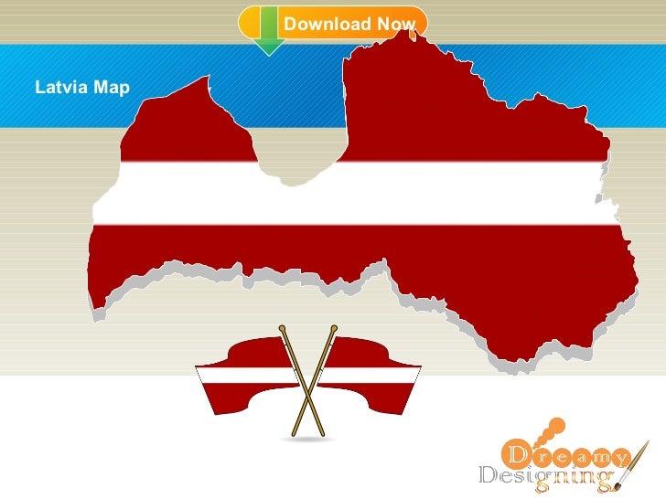 DD Latvia Map
