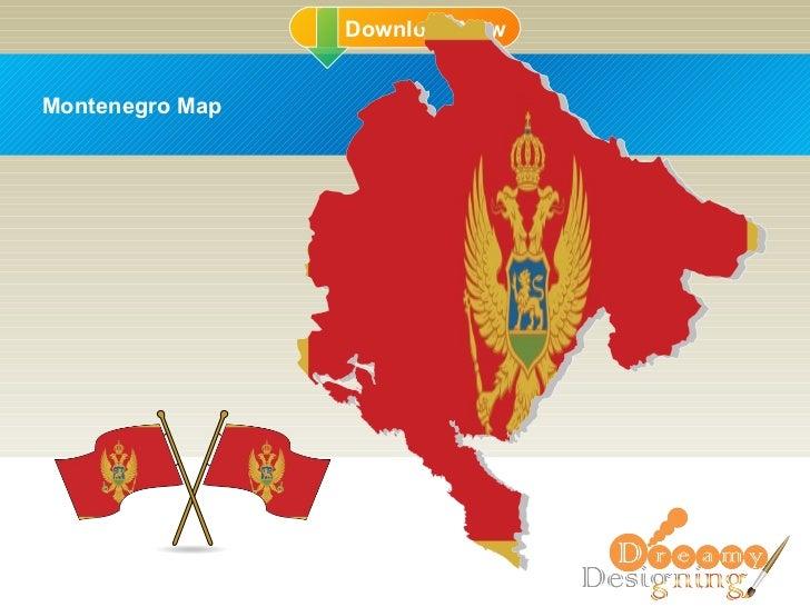 DD Montenegro Map