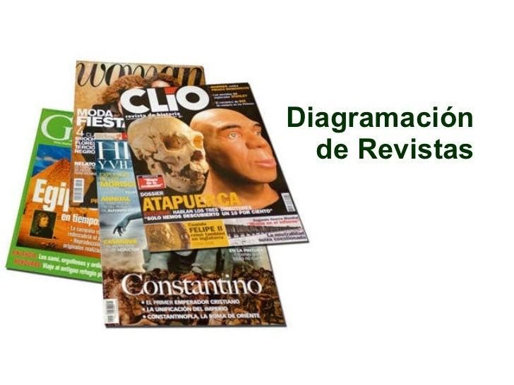 Diagramación de Revistas