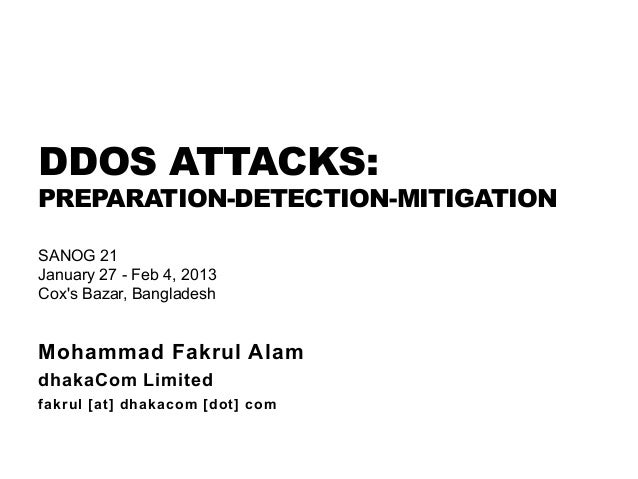 dos attack mitigation Hybrid attack mitigation services integrating on-premises detection & mitigation  with cloud-based volumetric attack scrubbing and 24x7 ert support.