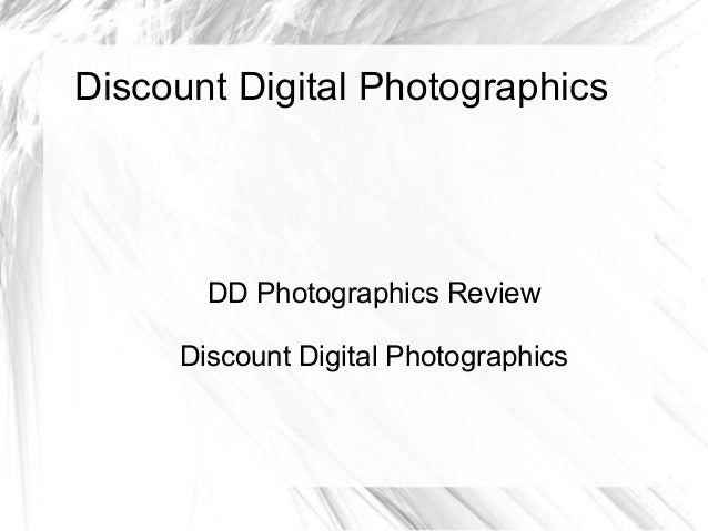 DD Photographics Review