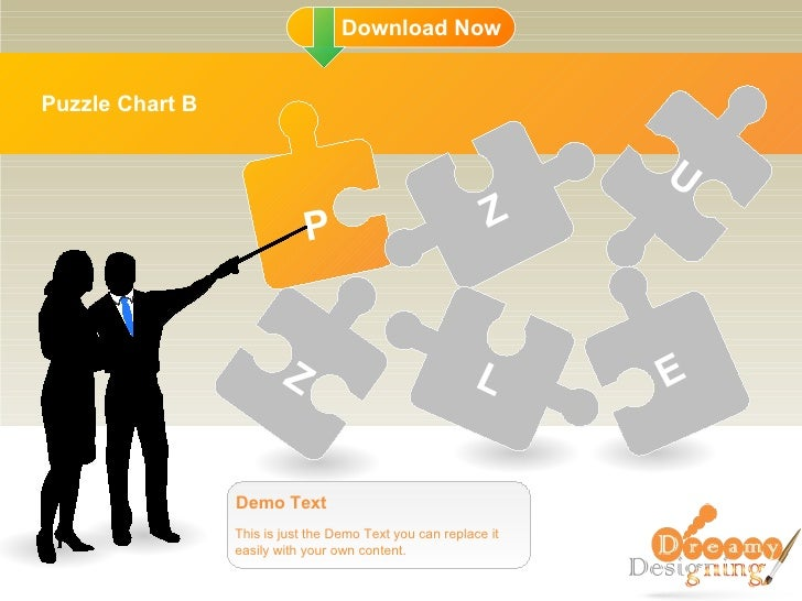 Puzzle Chart B This is just the Demo Text you can replace it easily with your own content. Demo Text P Z Z L U E