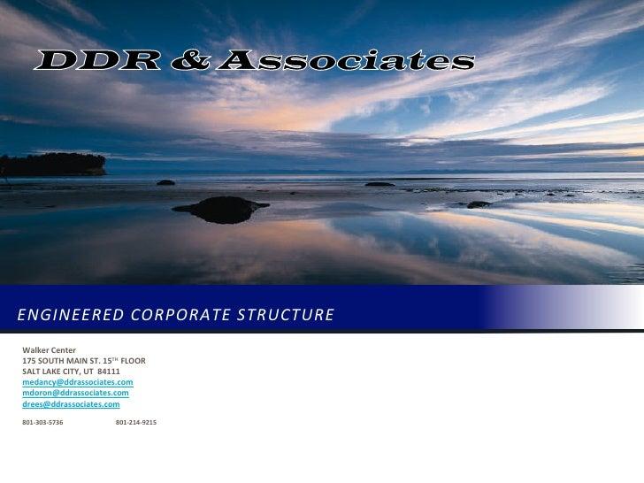 DDR & Associates