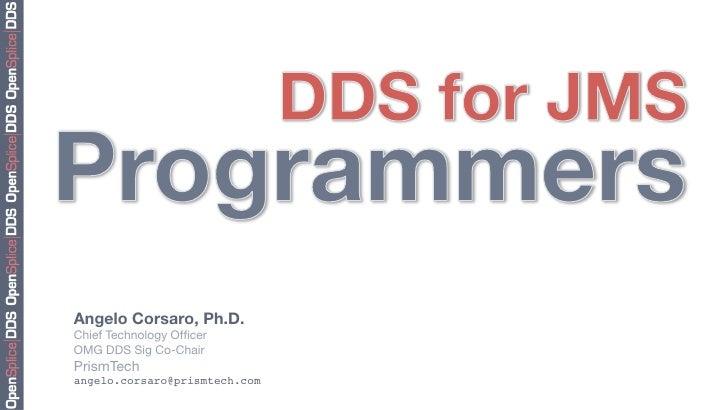 DDS for JMS Programmers