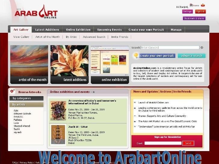 Welcome to ArabartOnline