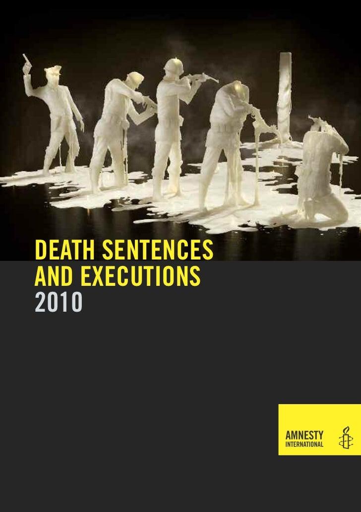 death sentencesand executions2010