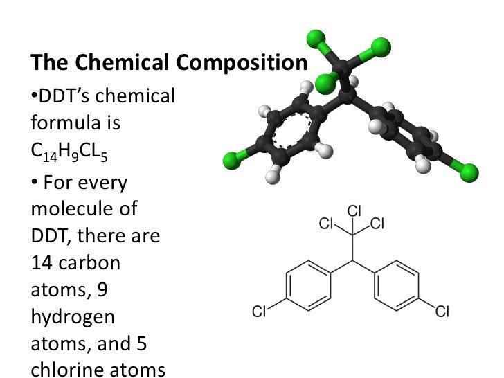 Ddt Pesticide Chemical Formula Ddt Pesticide Chemical Formula