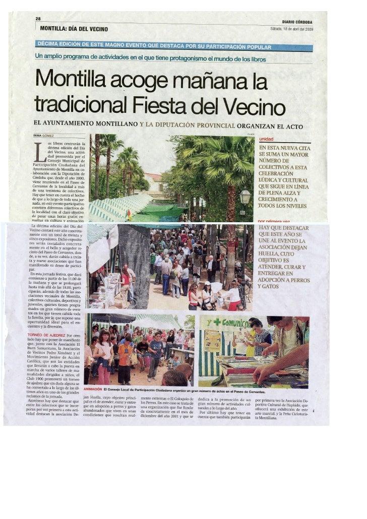 Fiesta del Vecino 2009