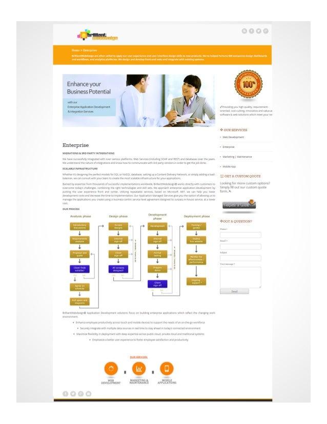 Brilliantwebdesign.net Services Enterprise