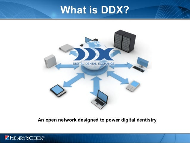 What is DDX?An open network designed to power digital dentistry