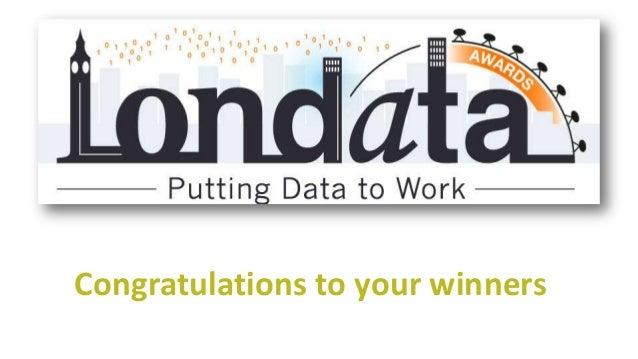 Data Does Xmas - Winners Londata Awards 2012