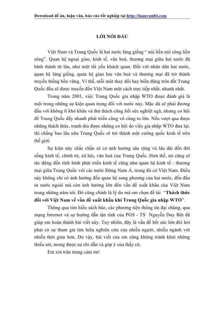 Download đề án, luận văn, báo cáo tốt nghiệp tại http://luanvan84.com                                LỜI NÓI ĐẦU       Việ...