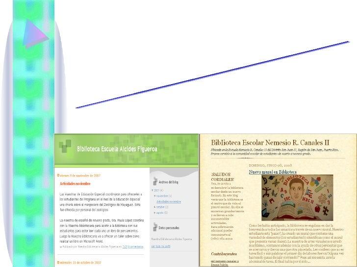 De Blogs Y Redes Sociales En Las Bibliotecas