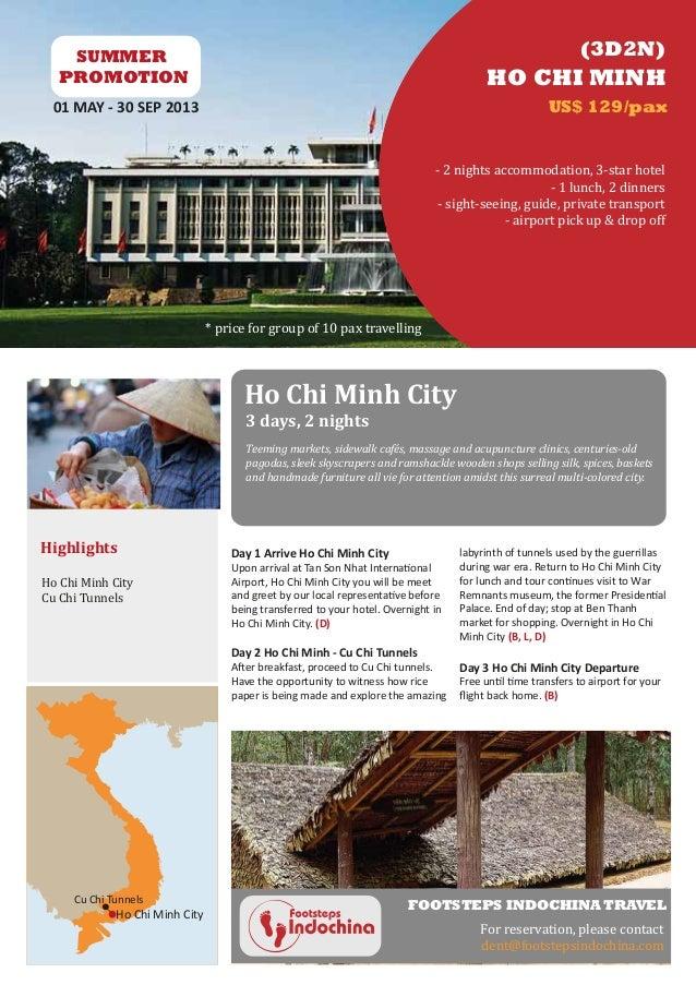 Ho Chi Minh Tour 3D2N - Promotion