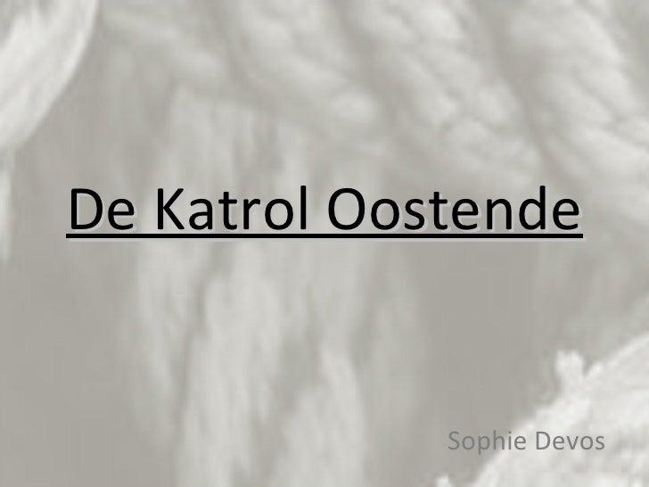 De Katrol Oostende Sophie Devos