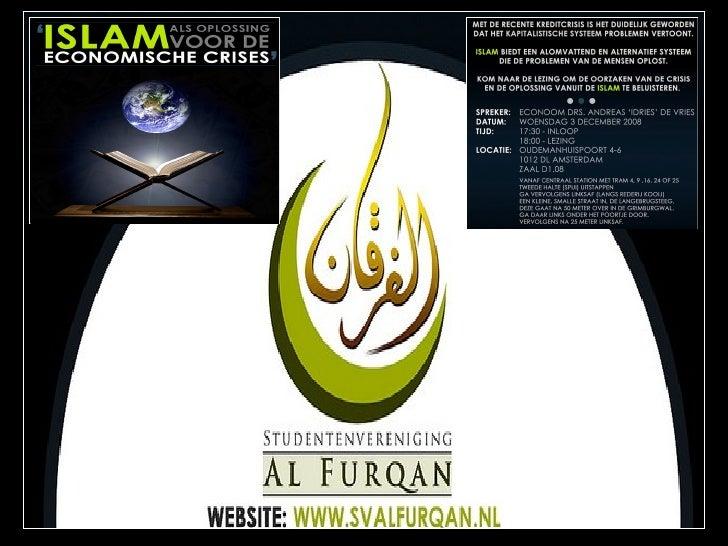 De Kredietcisis Vanuit Islamitische Perspectief Iii