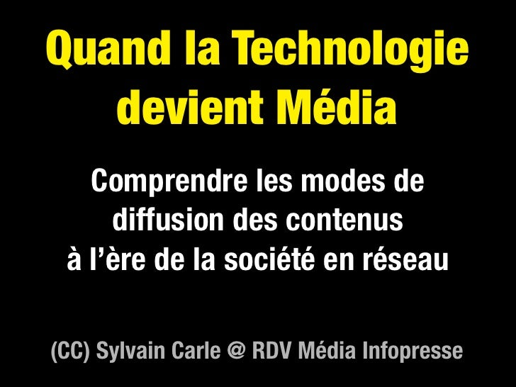 De Techno à Média