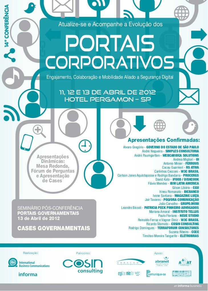 14ª Conferência de Portais Corporativos
