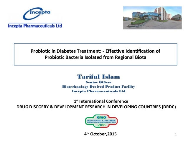 Probiotics in Diabetes Treatment by Tariful