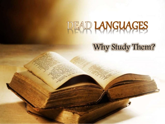 Why you should learn a dead language | Education | The ...