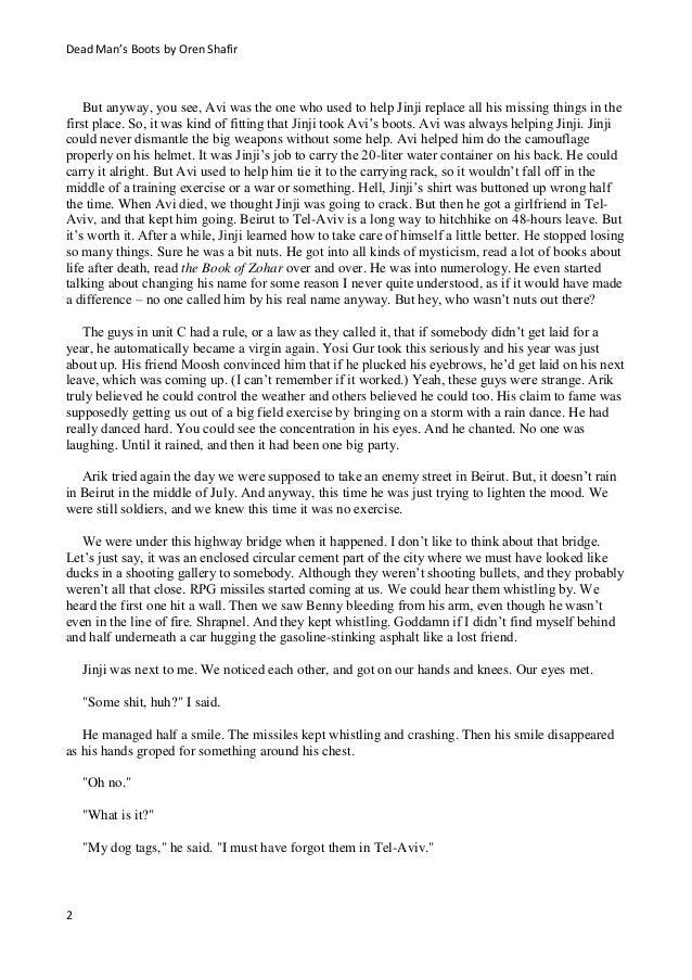 A fiction story
