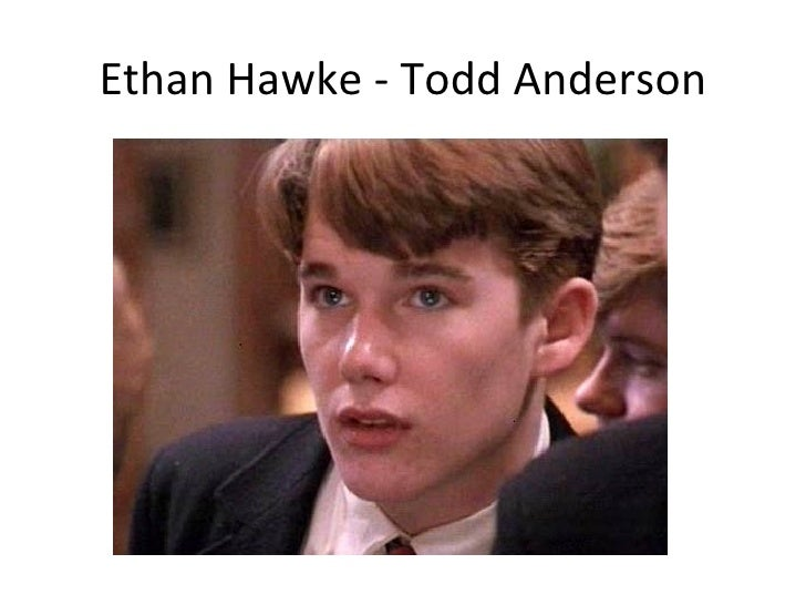 todd anderson on dead poet society