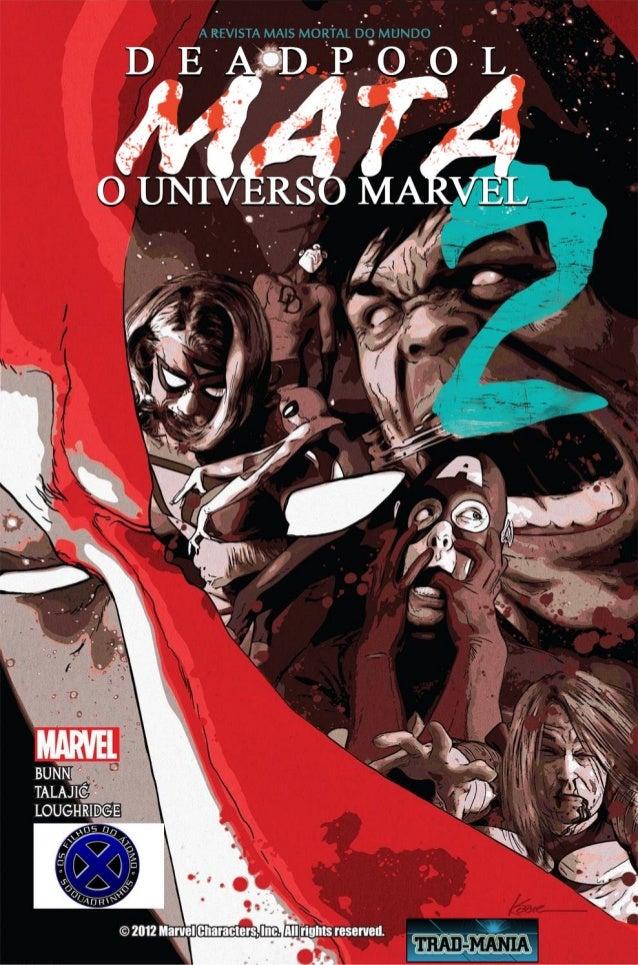Deadpool mata o universo marvel #2302
