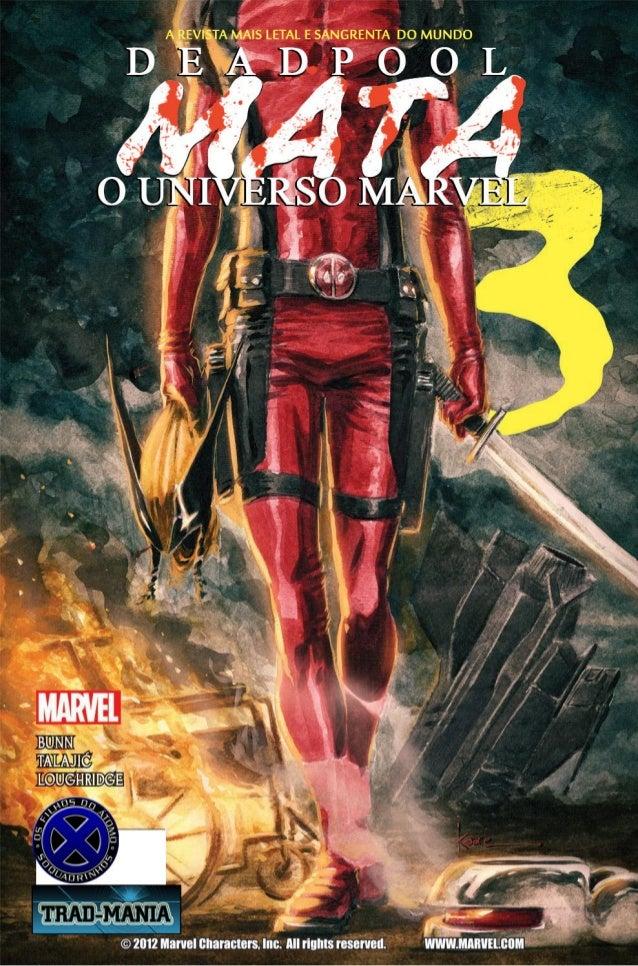 Deadpool mata o universo marvel #2303