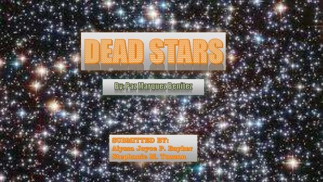 hrr dead stars by paz marquez