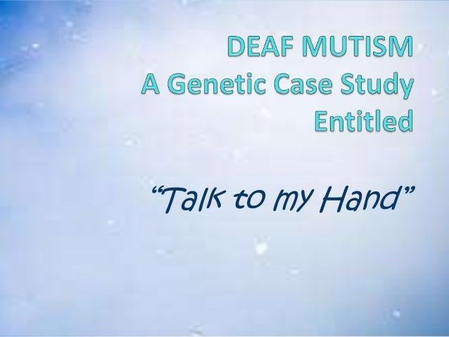 Deaf Mutism