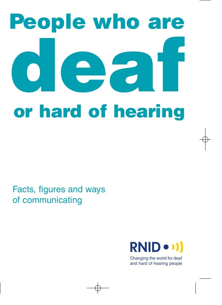 Deafness research