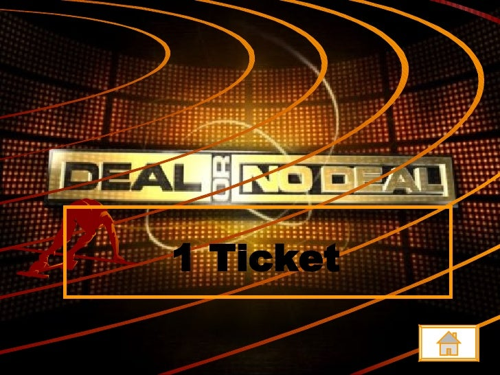 Deal Or No Deal Template Powerpoint Free Mandegarfo