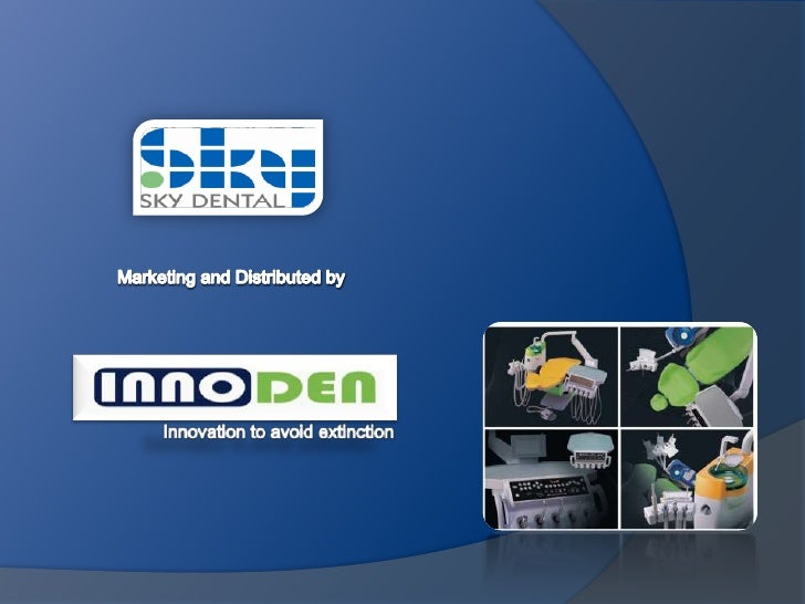 "InnoDen -Sky Dental ""W"" Model Unit"