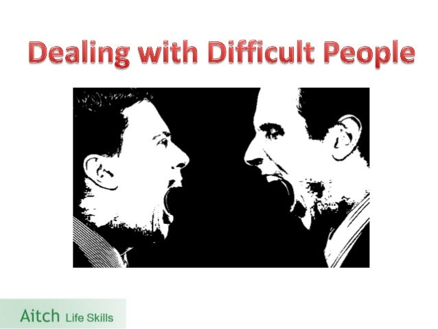 tips for trainers in dealing with difficult trainees Quick tips for dealing with annoying trainees here are some quick tips for dealing dealing with difficult people at work or in a training.