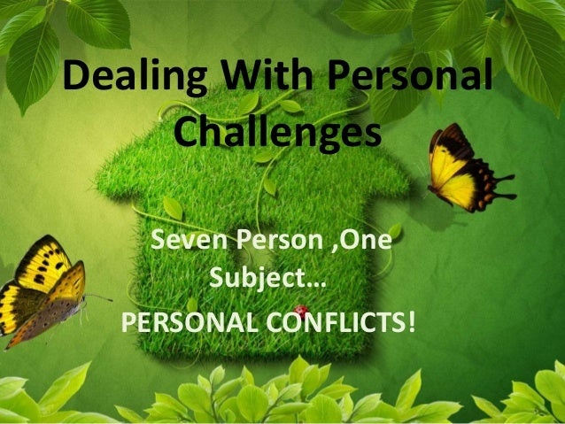 Personal conflict essay