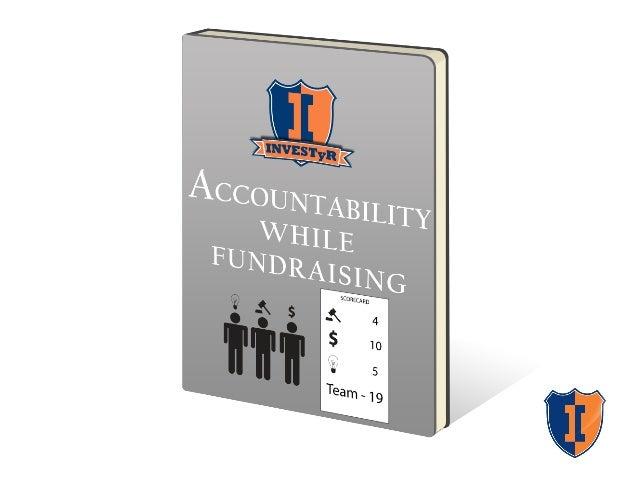 Accountability When Fundraising: Deal RoadMap