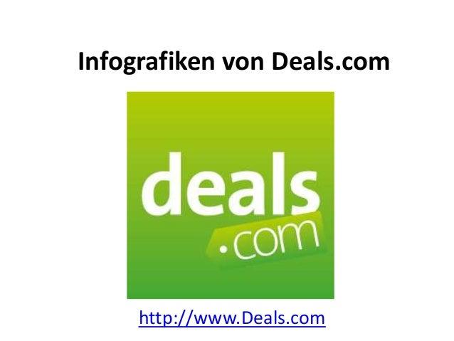 Infografiken von Deals.comhttp://www.Deals.com