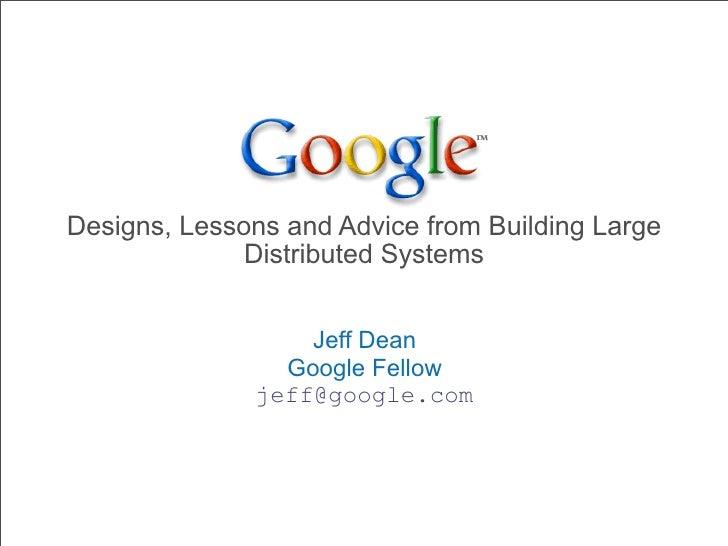 Dean keynote-ladis2009-jeff-dean