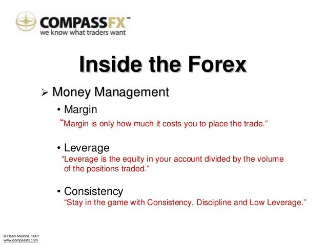 Forex account management
