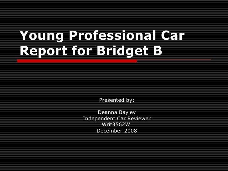 Deanna Bayley Power Point Presentation