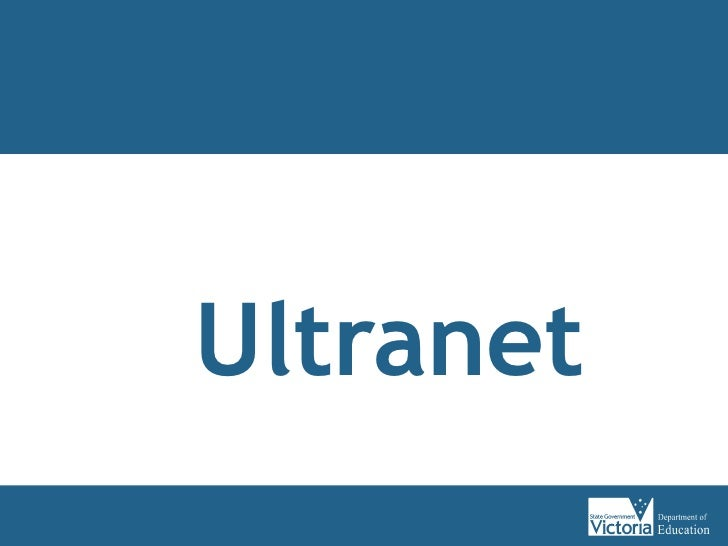 Ultranet - An Overview