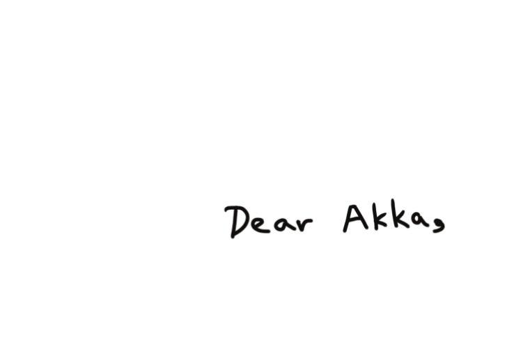 """""""Dear Akka"""" - a book by Krishna Bala Shenoi"""