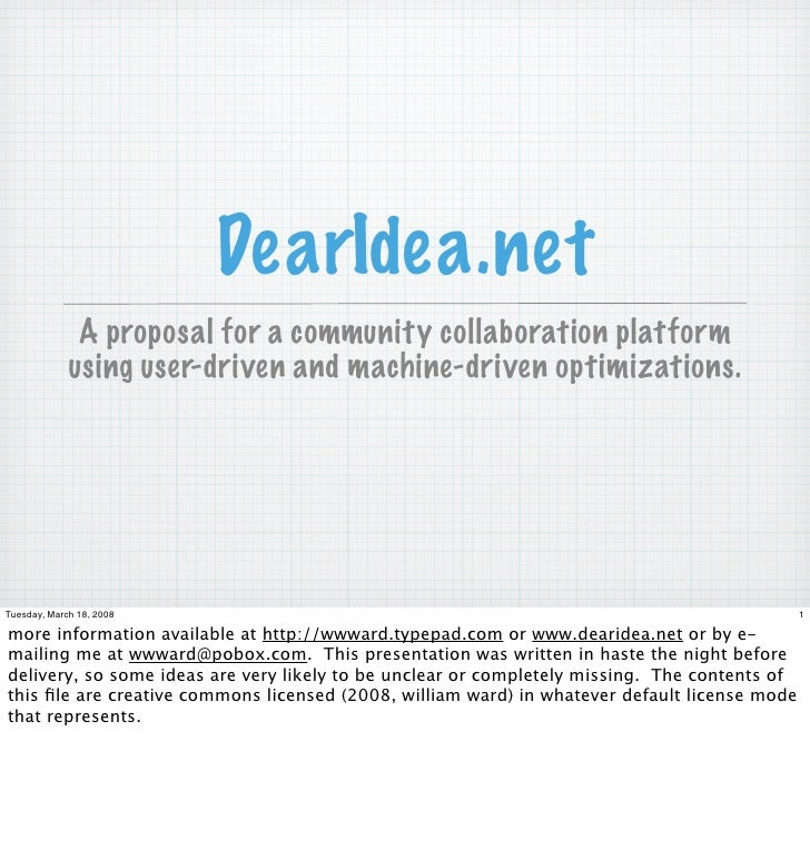 DearIdea.net