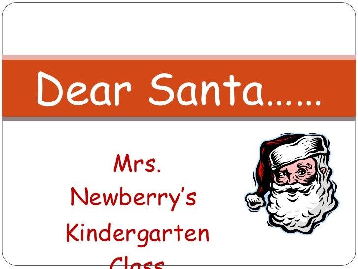 Dear santa #2 newberry
