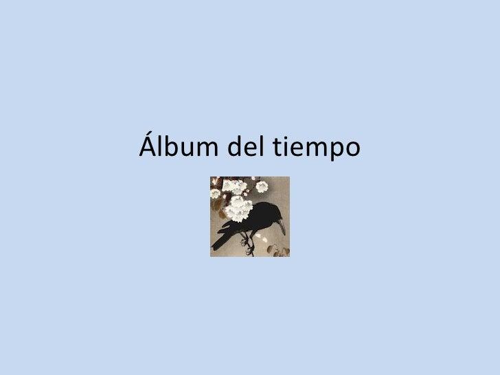 Álbum del tiempo