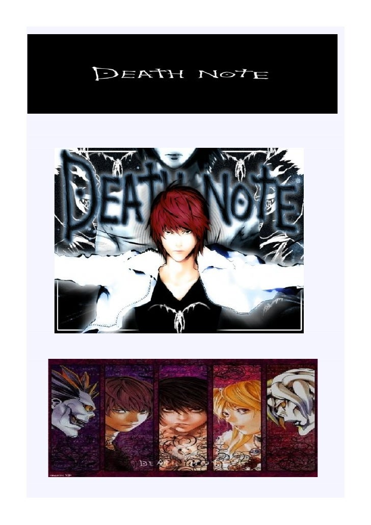 Titre : Death Note Genre : Shonen, Horreur, Policier, Psychologique, Drame 13 Volumes sortis au Japon (Avril 2004 – Octobr...