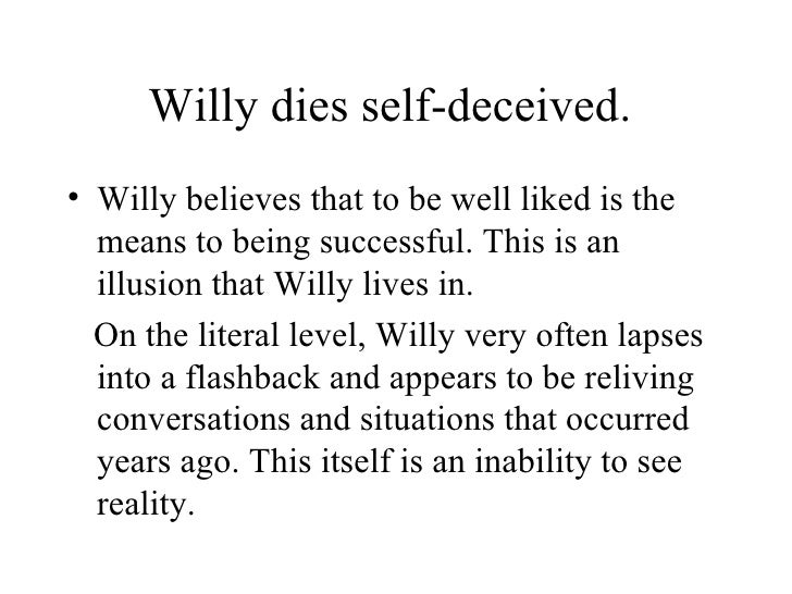 death of a salesman irony essays Free essay: willy was illusive thinking that he was good enough to get a better a job, instead he end up looking as a failure himself the irony lies in.