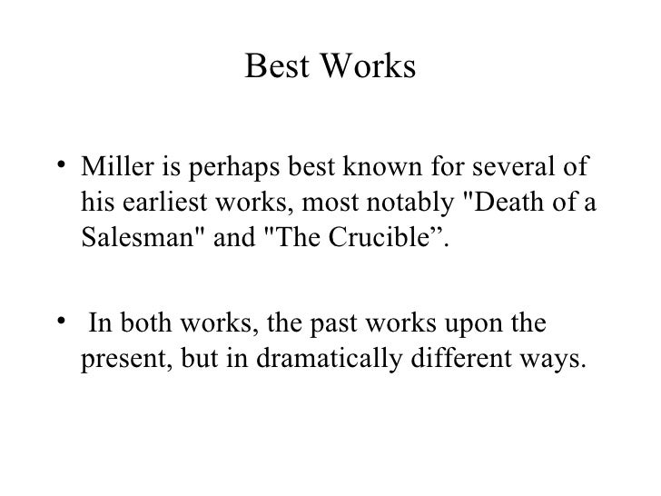 argumentative essay on death of a salesman A short summary of arthur miller's death of a salesman suggested essay topics happy declares that he will stick it out in new york to validate willy's death.