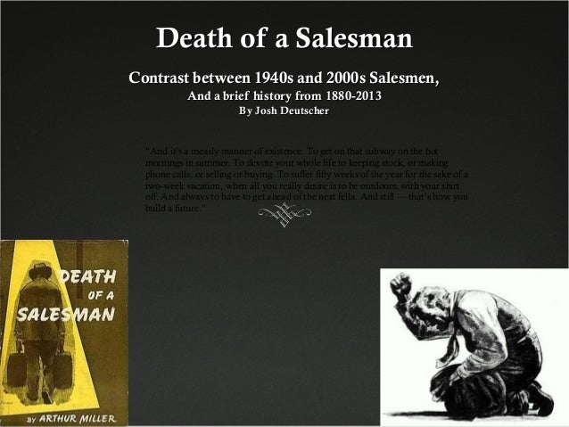 analytical essay on death of a salesman